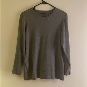 NEW Ann Taylor Factory Gray Cardigan Sweater